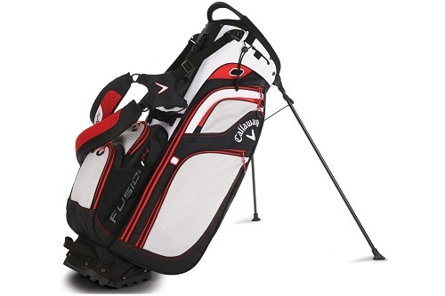Callaway 2016 Fusion Stand Bag on White Background