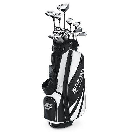 Callaway Mens Strata Ultimate Complete Golf Set on White Background