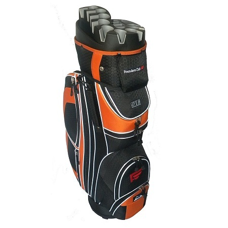 Founders Club Premium Cart Bag on White Background