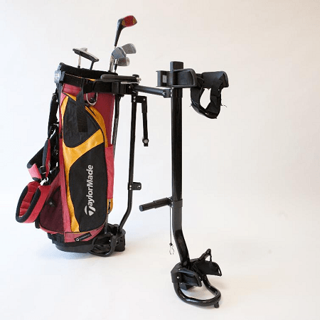Golf Bag on Golf Bag Carrier