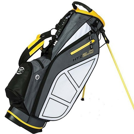 Hot-Z Golf 2.0 Stand Bag on White Background