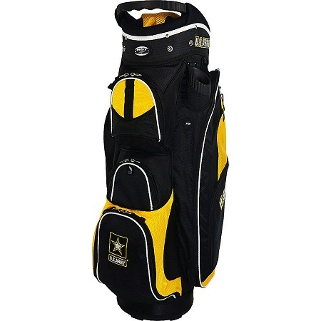 Hot-Z Golf Bags Cart Bag on White Background