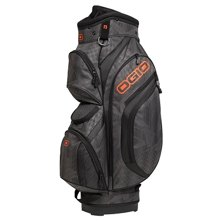 Ogio Golf- 2015 Press Cart Bag White Background