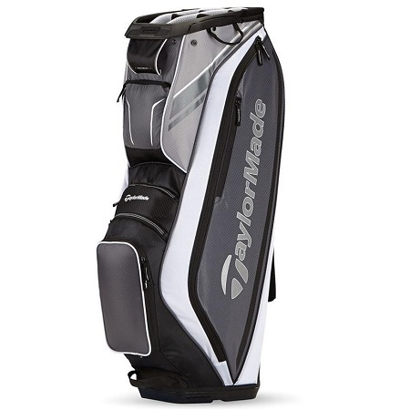 TaylorMade San Clemente Cart Bag on White Background