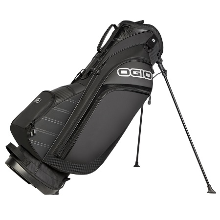 OGIO Golf 2017 Press Stand Bag On White Background