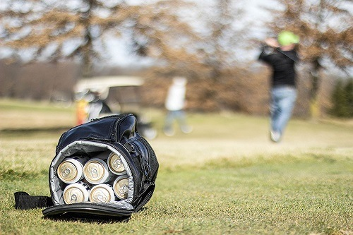 Cooling Golf Bag for a refreshing cool drink