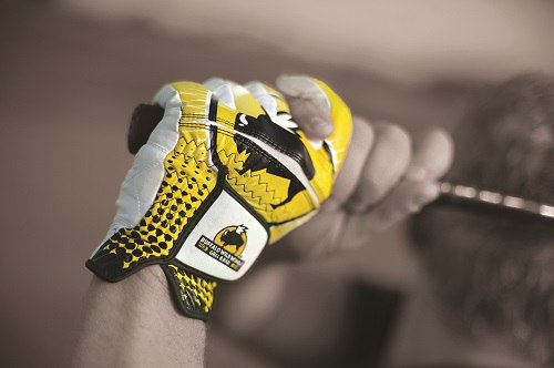 Yellow Golf GLove
