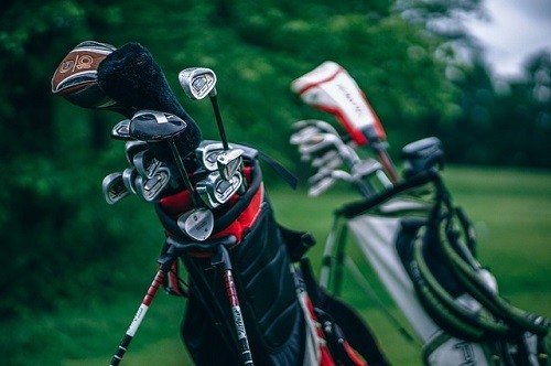 Golf Bags with Equipment