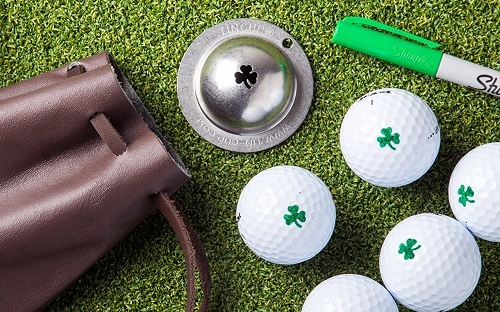 Cool Clover Style Golf Markers