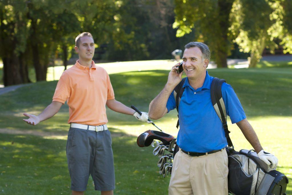 Golf etiquette